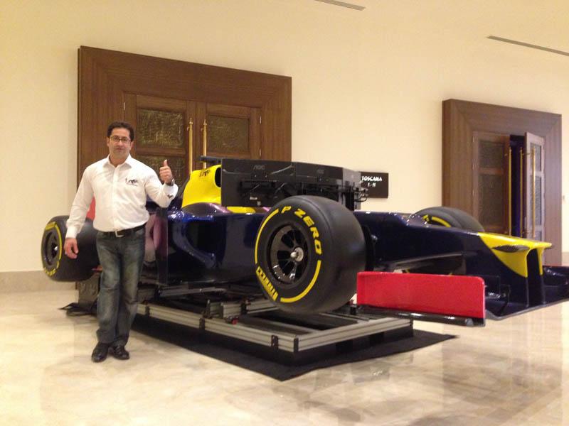 3 Dof Formula Simulator - ARCSIM - Formula 1 Simulator, F1
