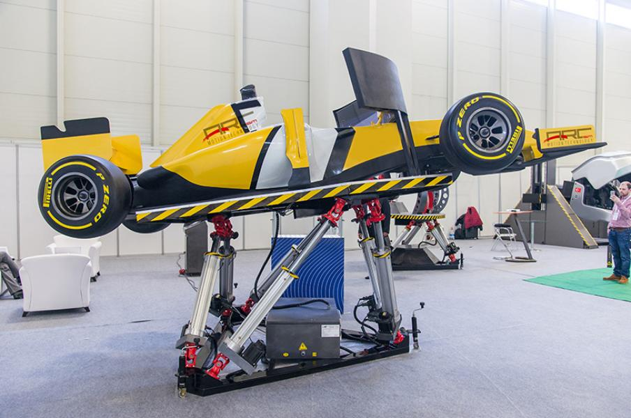 6 Dof Formula Simulator - Formula 1 Simulator, F1 Simulator