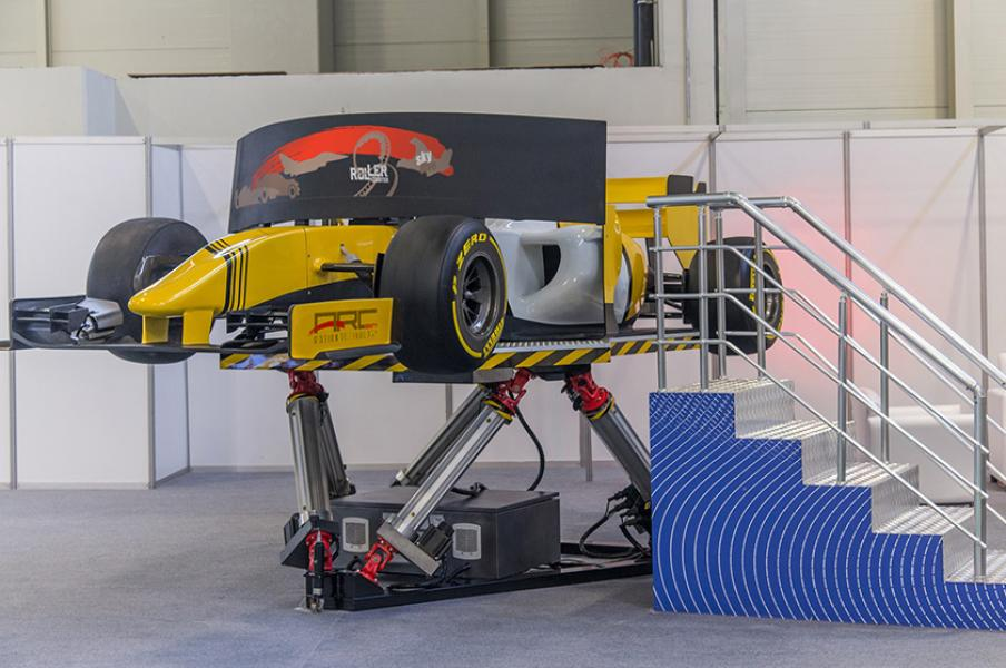 6 Dof Formula Simulator - Formula 1 Simulator, F1 Simulator, Formula