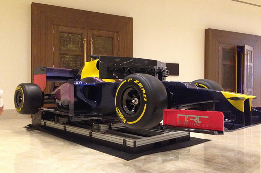 3 Dof Formula Simulator - Formula 1 Simulator, F1 Simulator, Formula