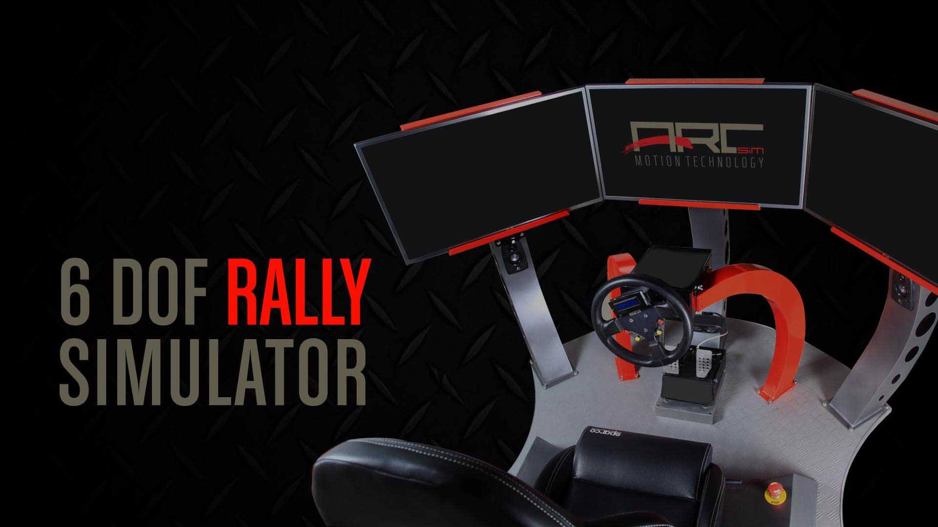 6 Dof Rally Simulator